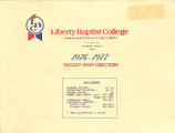 LBC 1976-1977 Faculty-Staff Directory