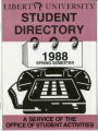 Student Directory 1988 Spring
